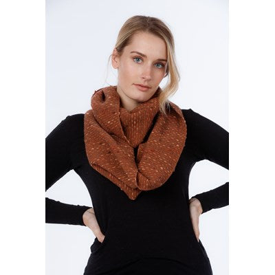 NX807 Dot Inlay Scarf