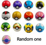 DROPSHIPPING 1Pcs Pokeball+1pcs Random Figure Inside action figures Toys for children Cool collection toys for Kid Birthday Gift