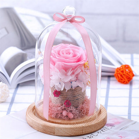 Basket Enchanted Rose