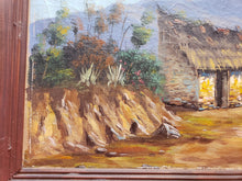 AFTER GONZALO ENDARA CROW PAINTING OF QUITO ECUADOR 1961