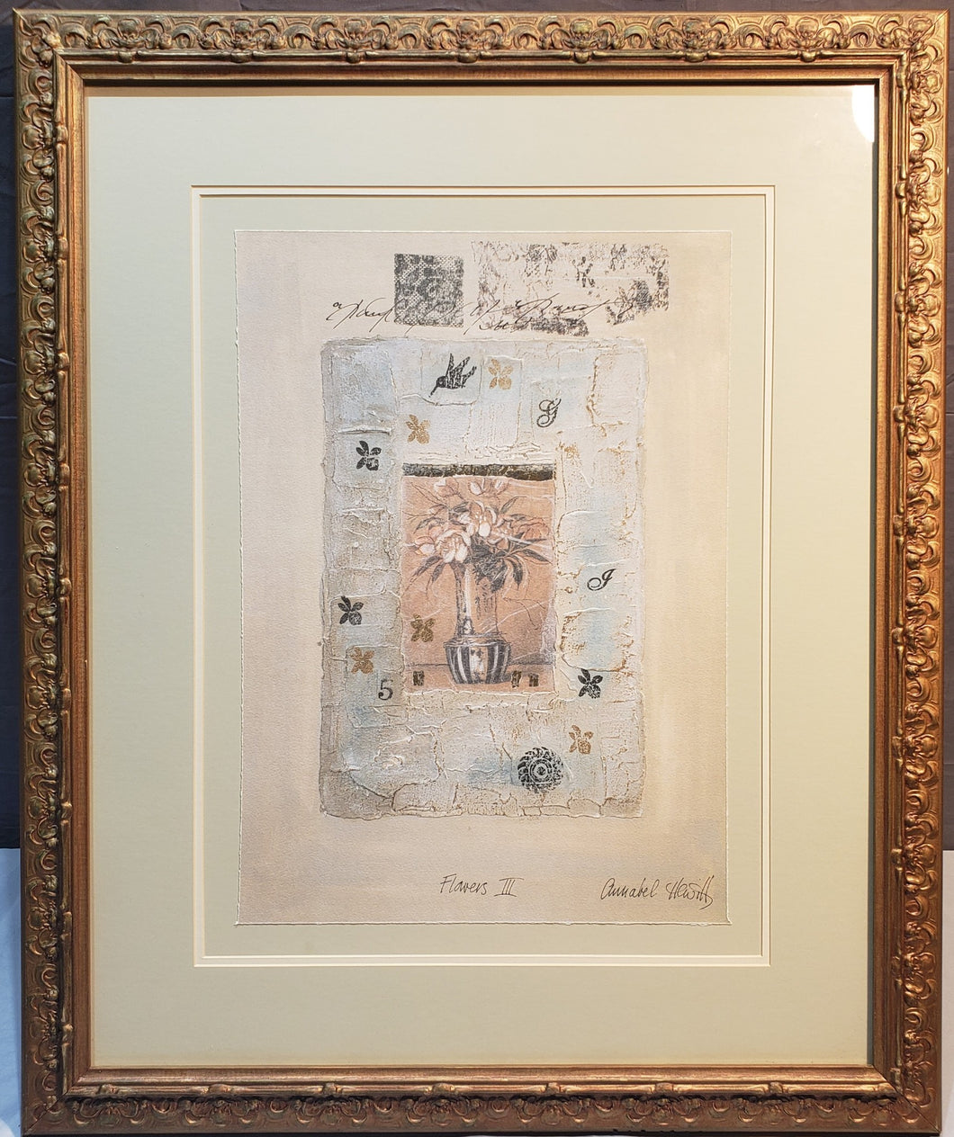 LARGE FRAMED ANNABEL HEWITT