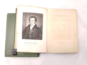 1883 LIFE OF WILLIAM CULLEN BRYANT BY PARKE GODWIN VOLUME I & II ANTIQUE BOOKS