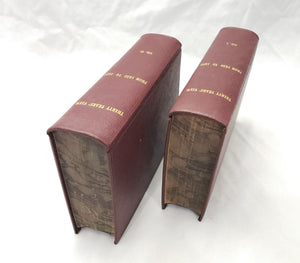 1865 THIRTY YEARS VIEW FROM 1820 - 1850 VOLUME I & II ANTIQUE BOOKS