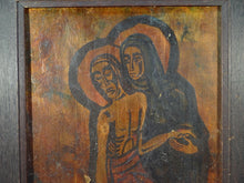 ICONS, COPPER OVER GOLD LEAF ON BOARD,ARTIST SIGNED WASSNER