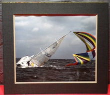 PRESS PHOTO OF SAILBOAT FROM ST. PETERSBURG TIMES NEWSPAPER FL