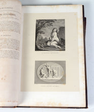 2 VOL OF 4 TABLEAUX STATUES BAS-RELIEFS DE LA GALERIE DE FLORENCE ANTIQUE BOOKS