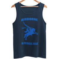 16 Med Regt Men's Athletic Vest - HappyJaySupplies
