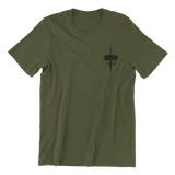 45 Royal Marines Cdo T-Shirt (Plain Back) - HappyJaySupplies