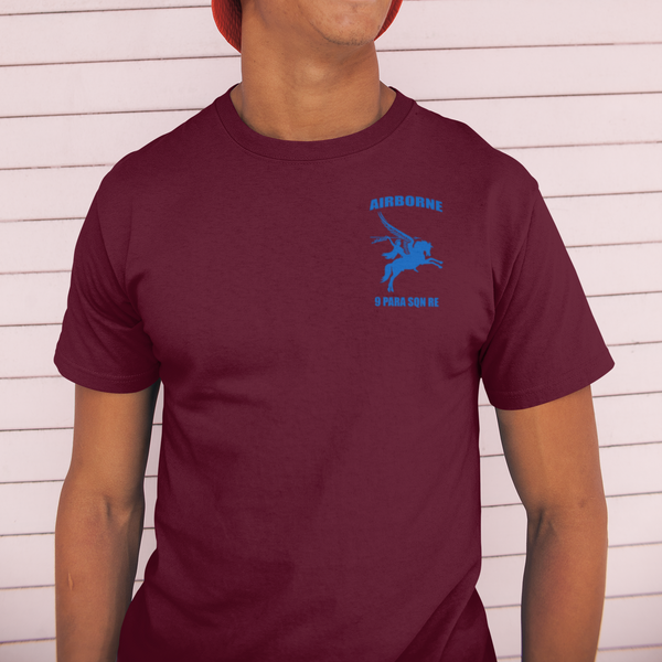 9 Para Sqn RE T-Shirt (Plain Back) - HappyJaySupplies