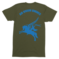 Airborne Forces Motto Pegasus  T-Shirt - HappyJaySupplies