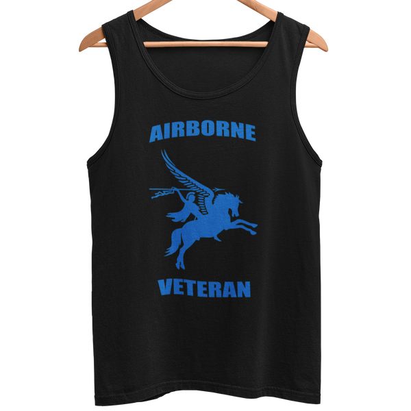 Airborne Veteran Men's Athletic Vest - HappyJaySupplies