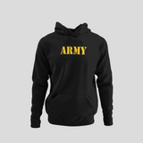 Army Gold Design Hoodie
