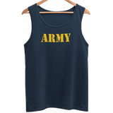 Army Gold Design Men's Athletic Vest - HappyJaySupplies