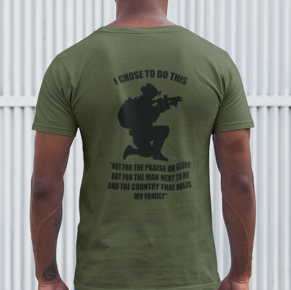 British Veteran Choices T-Shirt - HappyJaySupplies