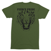 Fierce Pride PWRR T-Shirt (Black Design) - HappyJaySupplies