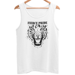 Fierce Pride PWRR Men's Athletic Vest (Black Design) - HappyJaySupplies