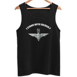 I Stand with Soldier F Betrayal Men's Athletic Vest - HappyJaySupplies