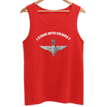 I Stand with Soldier F Para Men's Athletic Vest - HappyJaySupplies