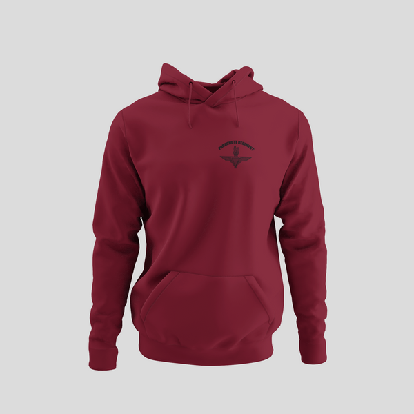 Parachute Regiment Hoodie (Black Cap Badge)