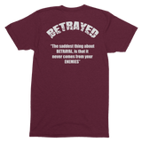 I Stand with Soldier F Betrayed Para T-Shirt - HappyJaySupplies