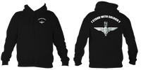 I Stand with Soldier F Para Hoodie - HappyJaySupplies