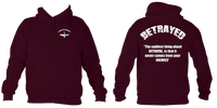 I Stand with Soldier F Betrayed Para Hoodie - HappyJaySupplies