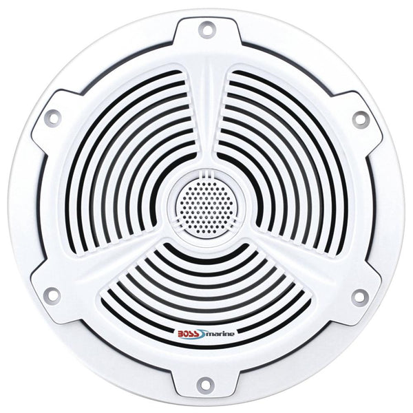 "Boss Audio MR652C 6.5"" 2-Way Marine Speakers - (Pair) White"
