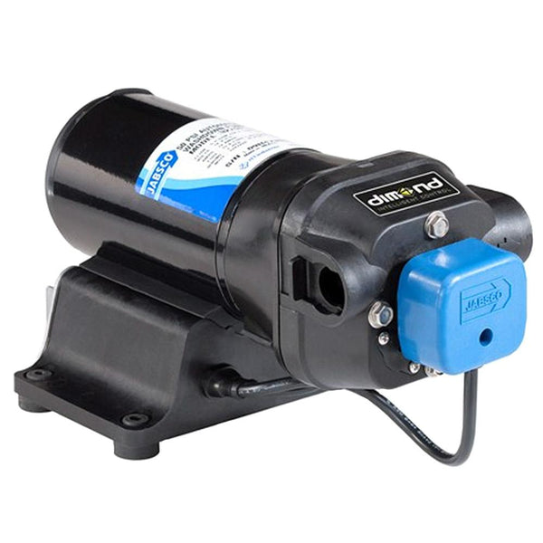 Jabsco V-FLO Water Pressure Pump with Strainer - 5GPM - 12VDC 60PSI