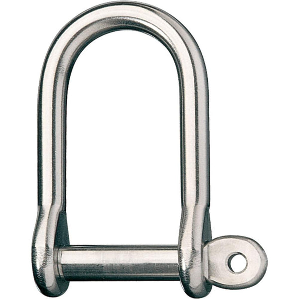 "Ronstan Wide Dee Shackle - 1-2""Pin - 2-11-16""L x 1-5-16""W"