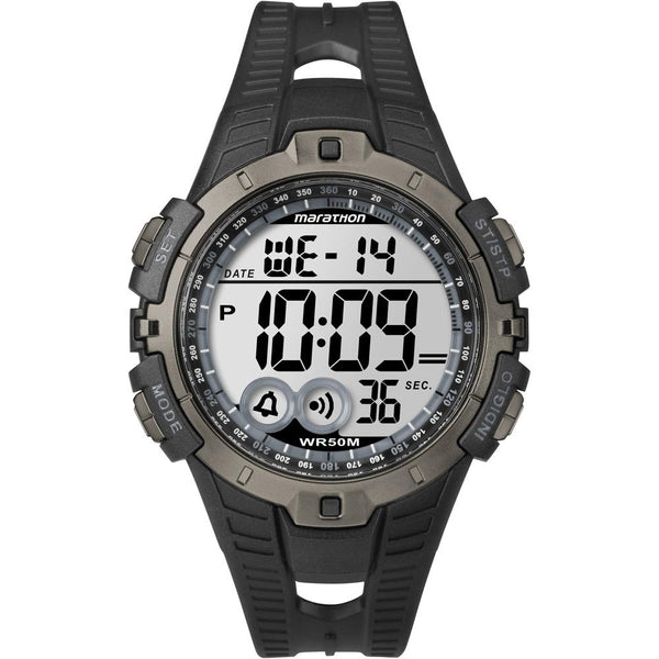 Timex Marathon Digital Full-Size Watch - Black-Gray