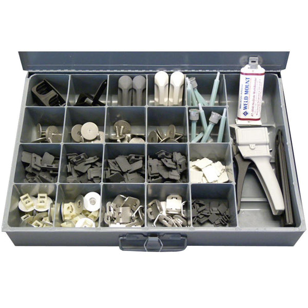 Weld Mount Industrial Kit w-AT-8040 Adhesive