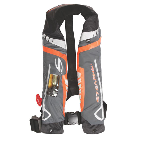 Stearns C-Tek 33G A-M Inflatable Life Vest - Orange-Gray
