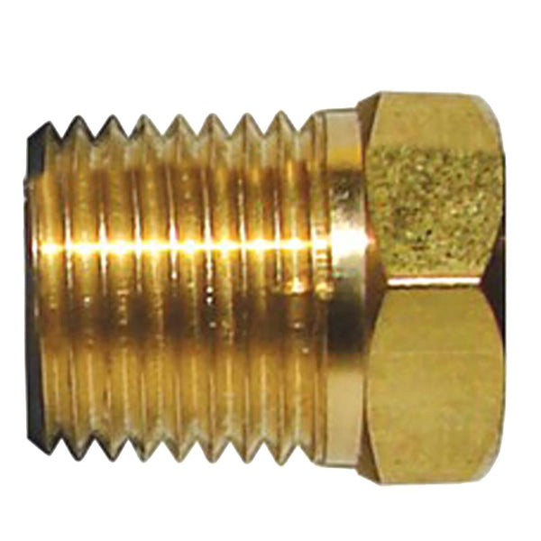 Tecnoseal Brass Cap f-M8 Pencil Zinc