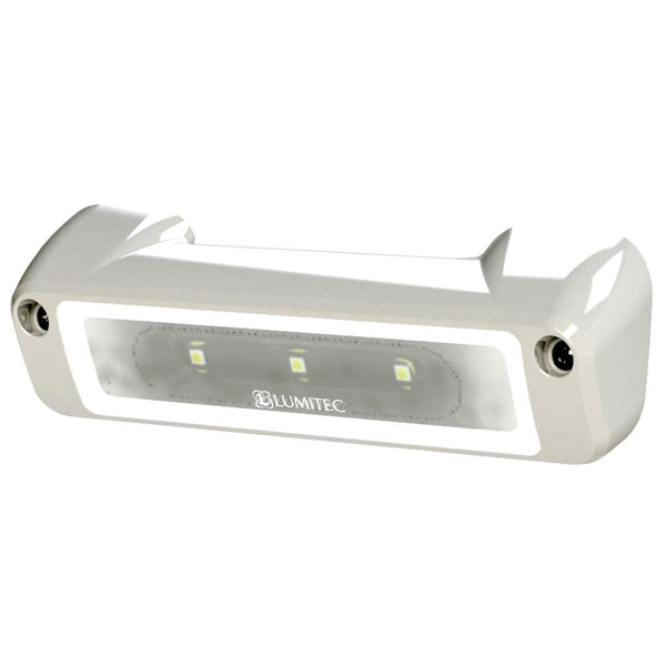 Lumitec Perimeter Light - White Finish - White-Blue Dimming
