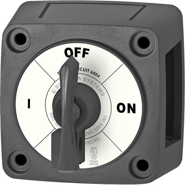 Blue Sea 6004200 Single Circuit ON-OFF w-Locking Key - Black