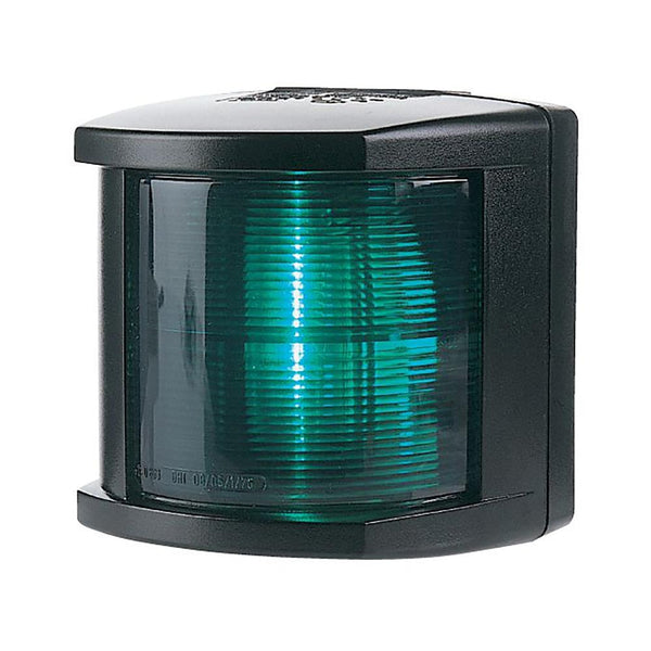 Hella Marine Starboard Navigation Light - Incandescent - 2nm - Black Housing - 12V