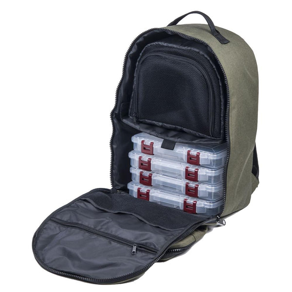 Plano A-Series Tackle Backpack w-5-3600 StowAway Utility Boxes