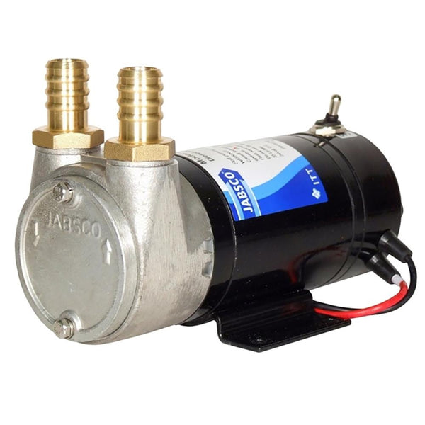 Jabsco Sliding Vane Self-Priming Diesel Transfer Pump - 9 GPM & 12V