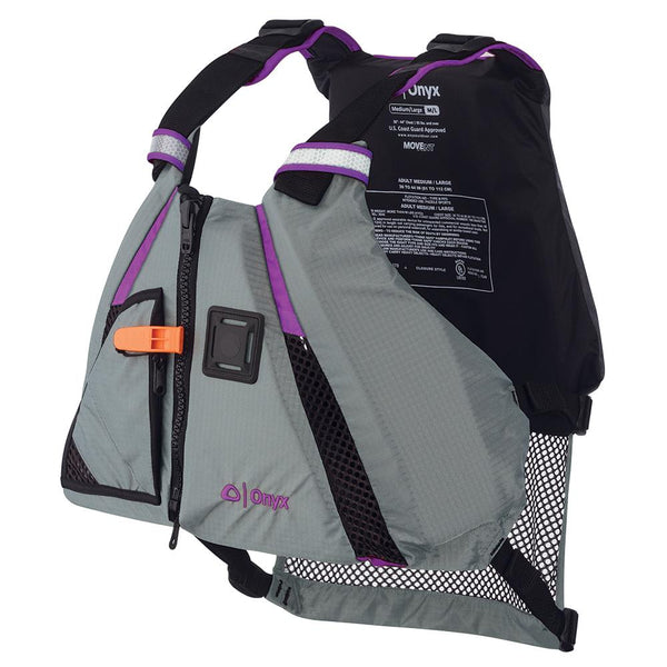 Onyx MoveVent Dynamic Paddle Sports Vest - Purple-Grey - Medium-Large