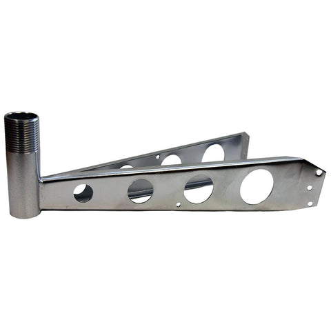 "Glomex Mast Mount Bracket 1"" - 14 Thread"