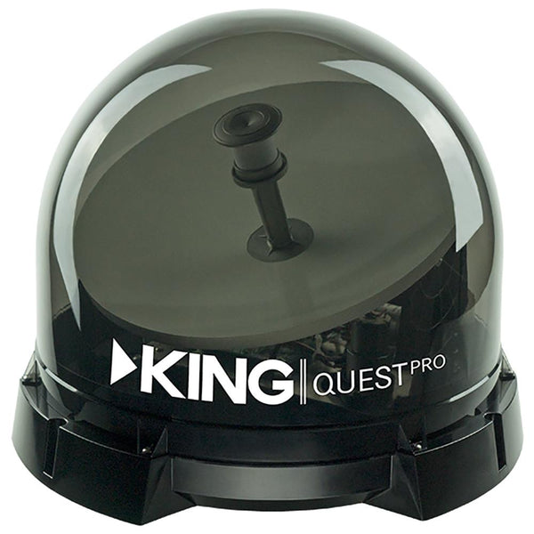 KING Quest Pro™ Premium Portable Satellite TV Antenna