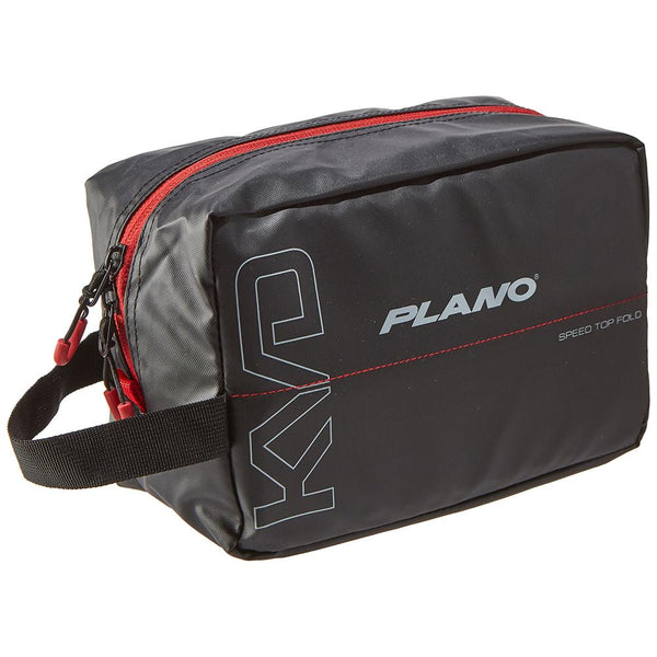 Plano KVD Wormfile Speedbag™ Small - Holds 20 Packs - Black-Grey-Red