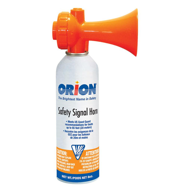 Orion Safety Air Horn - 8oz