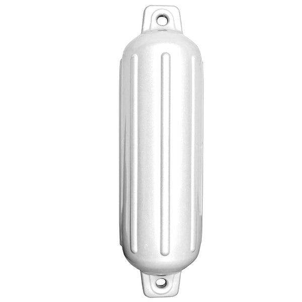 "Taylor Made Storm Gard™ 6.5"" x 22"" Inflatable Vinyl Fender - White"