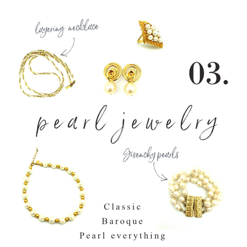 vintage pearl jewelry from 24 wishes vintage