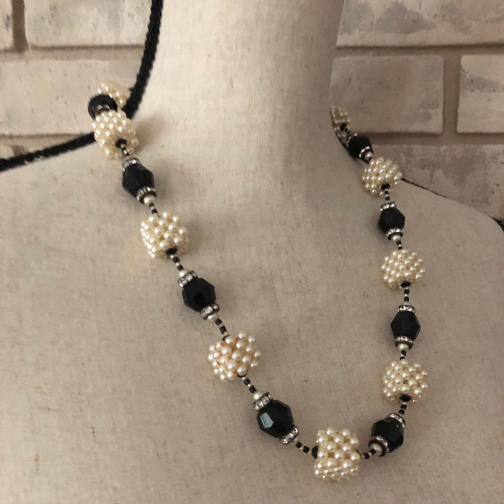 Vintage Vendome Art Deco Style Pearl Bead Necklace