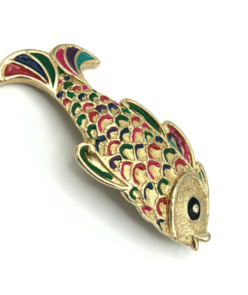 MIMI Di N Vintage Koi Fish Belt Buckle