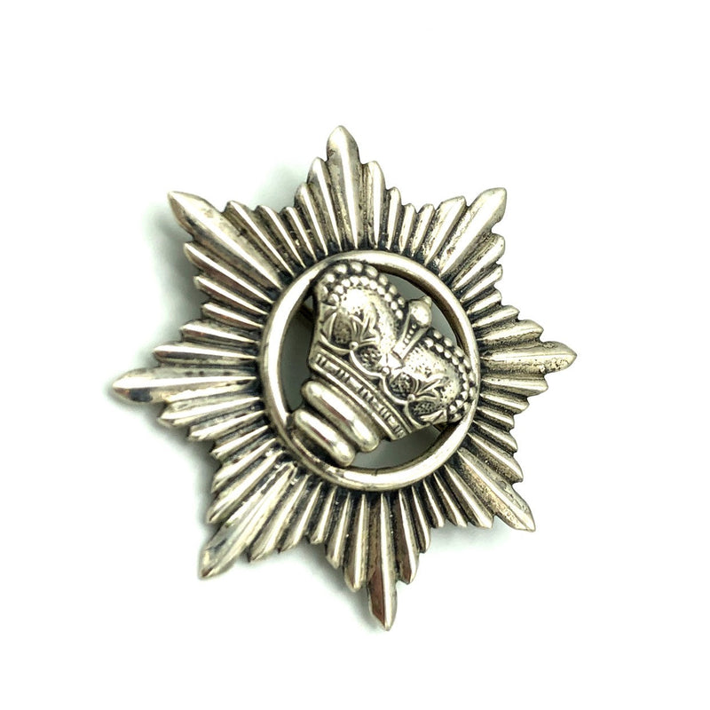 Silver Vintage Danecraft Crown Pin Brooch Pendant-Sustainable Fashion with Vintage Style-Trending Designer Fashion-24 Wishes