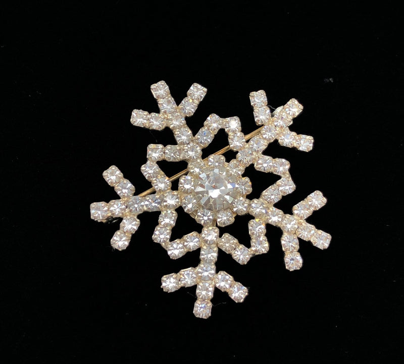 Vintage Eisenberg Ice Snowflake Brooch-Sustainable Fashion with Vintage Style-Trending Designer Fashion-24 Wishes