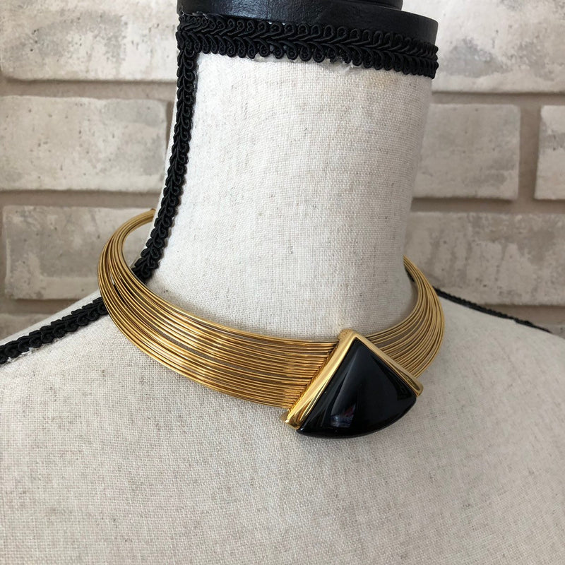 update alt-text with template Vintage Napier Classic Collar Pendant-Necklaces & Pendants-24 Wishes-[trending designer jewelry]-[napier jewelry]-[Sustainable Fashion]